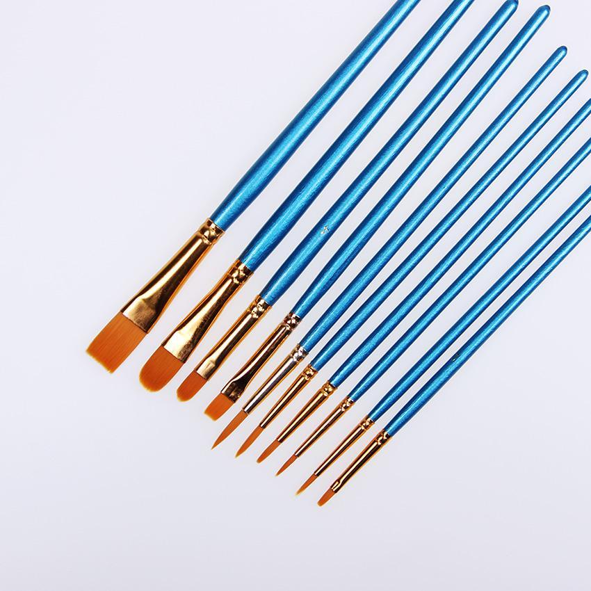 850x850 high quality kids watercolor gouache painting pen nylon hair
