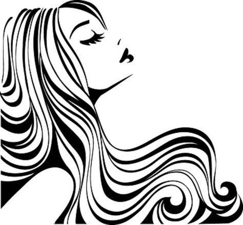 474x439 hair salon decal hair stylist hair studio decals