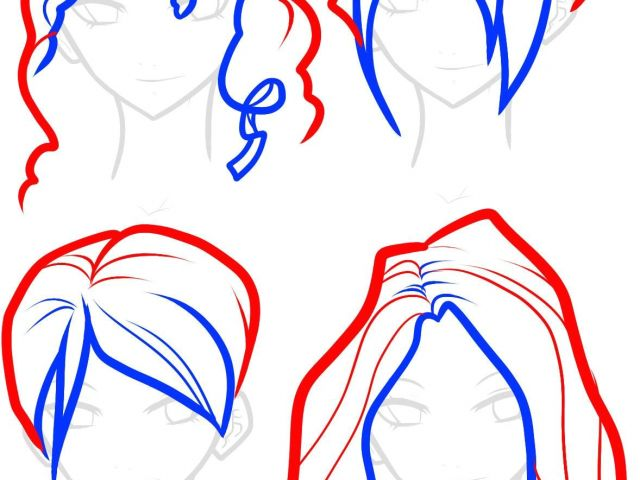 640x480 short hairstyles drawing drawings short hairstyles google search