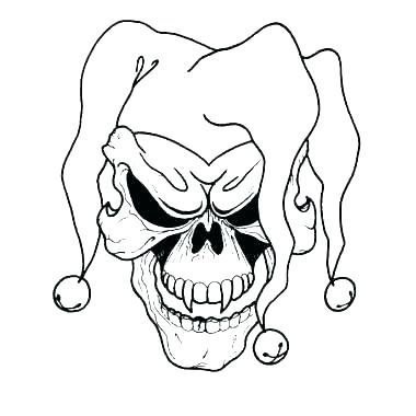 380x380 scary demon coloring pages demon with spear coloring pages flowers