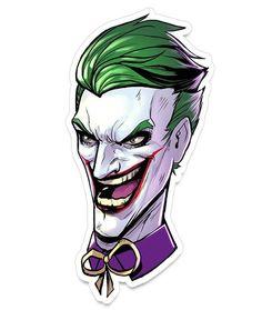 Half Joker Half Harley Quinn Drawing