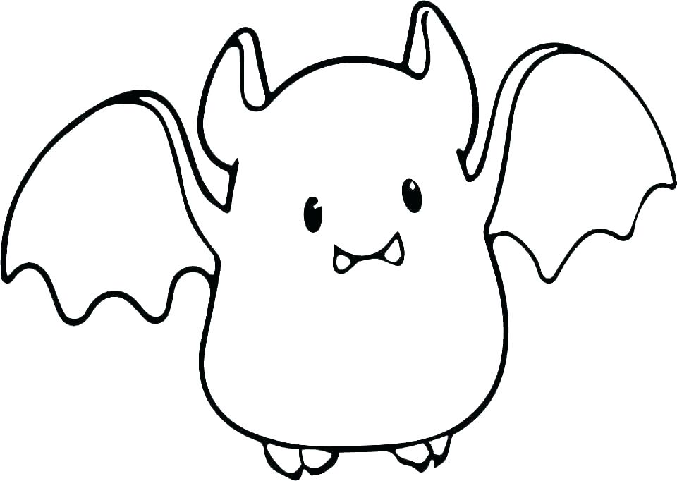 960x682 bat color pages cute bat coloring pages color bros halloween bat