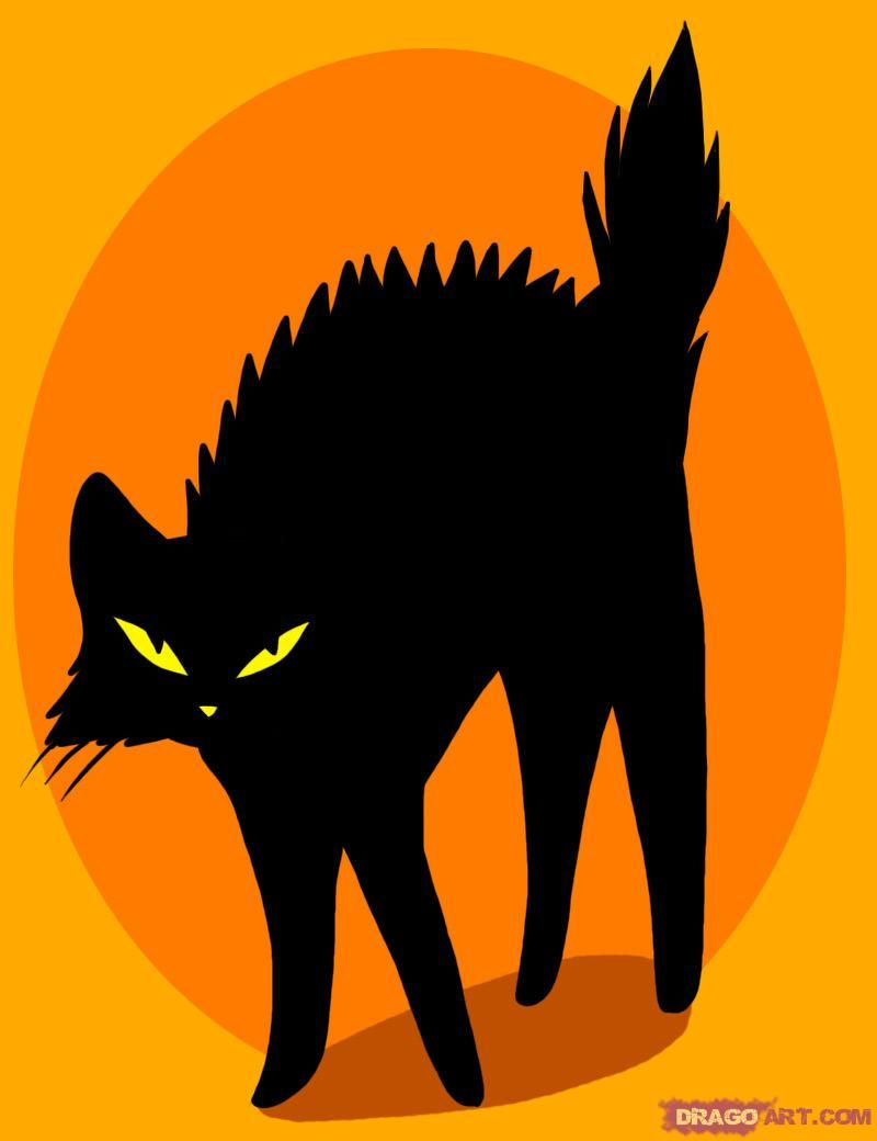 800x1040 how to draw a black cat tattoo crafts black cat tattoos, cat