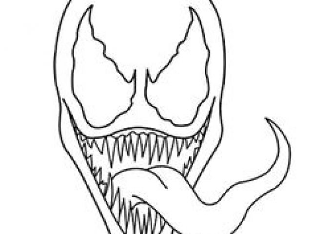 640x480 Easy Venom Drawings Best Venom Halloween Makeup Images Costumes