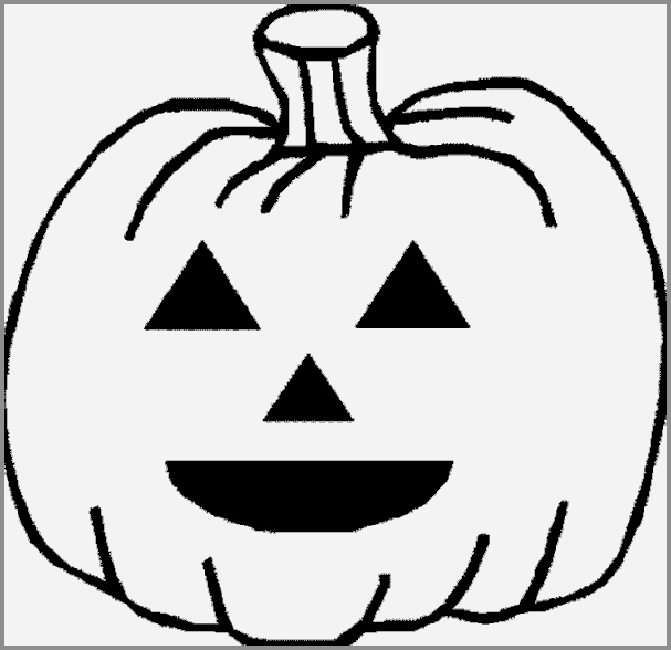 607x588 small halloween pumpkin templates inspirational halloween pumpkin