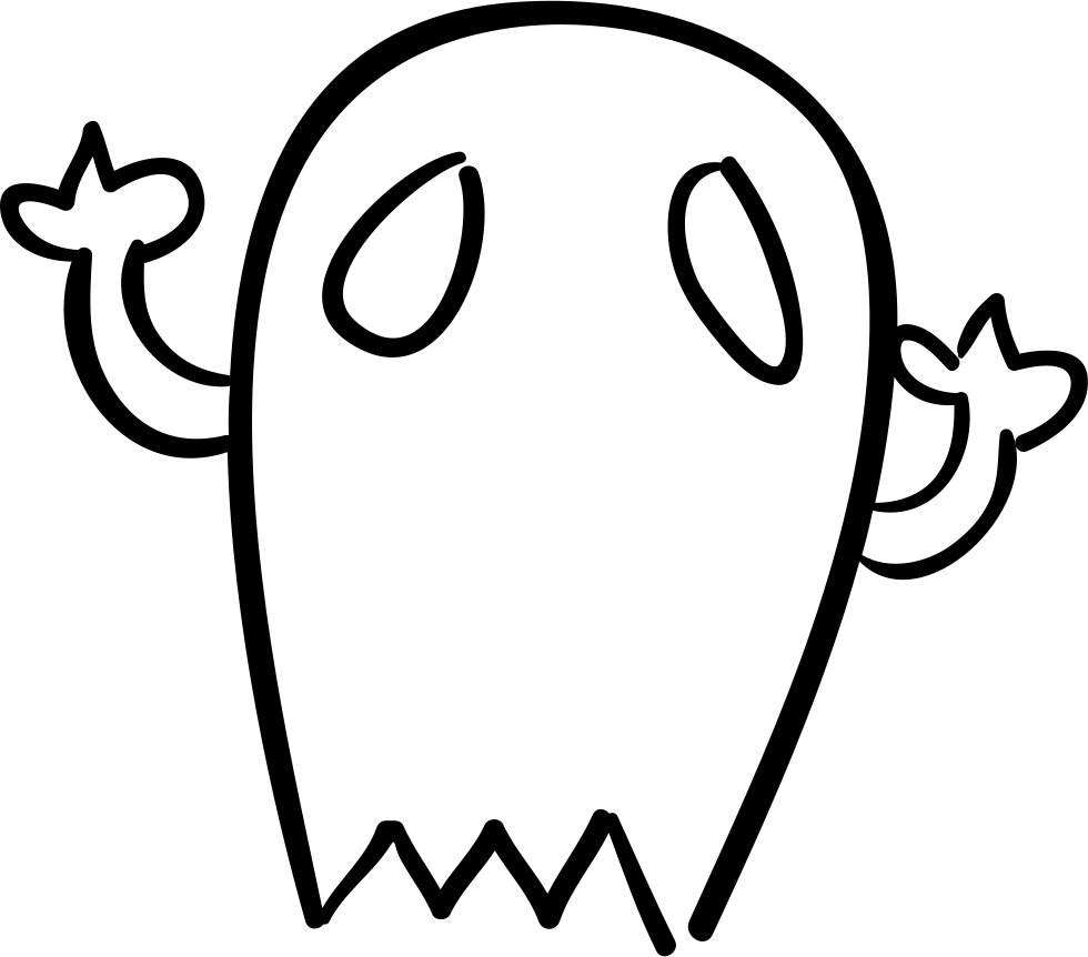 980x862 Drawing Halloween Outline Transparent Png Clipart Free Download