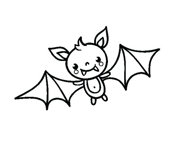 600x470 Halloween Bat Drawings Cartoon Scary Ghost Character Vector