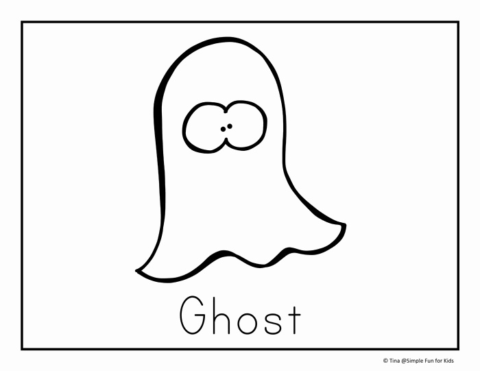 700x541 Halloween Coloring Pages For Kids Awesome Simple Ghost Drawing