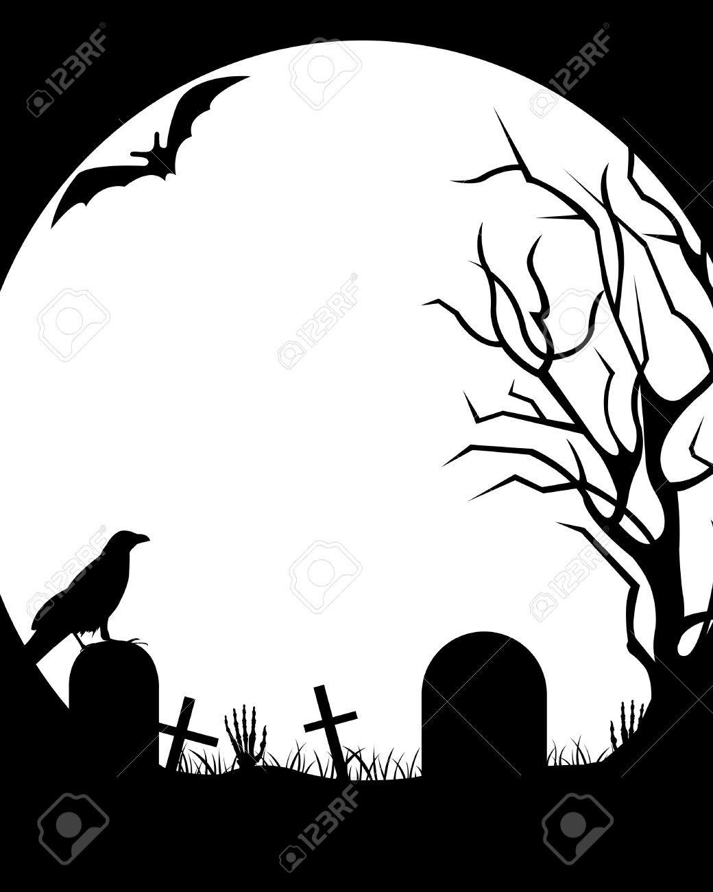 Halloween Moon Drawing Free Download Best Halloween Moon