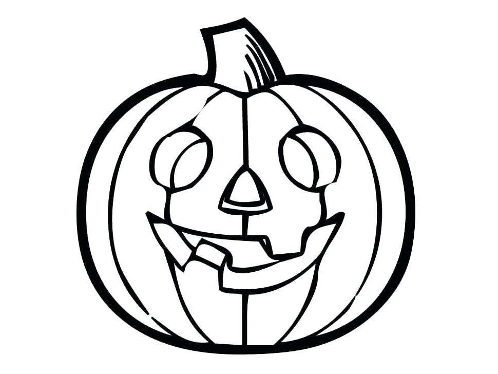 Halloween Pumpkin Drawing For Kids | Free download on ...