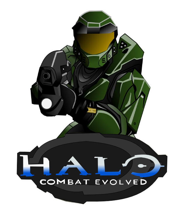 628x731 Master Chief Halo Ce Drawing Drawn