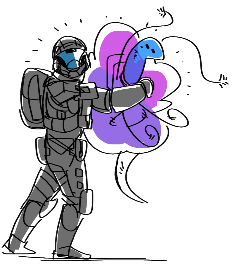 806x898 odst rookie and the engineer cute things halo, halo mega