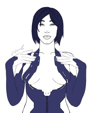 320x383 Cortana Drawings On Paigeeworld Pictures Of Cortana
