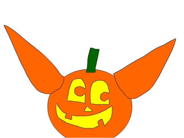 602x452 Day Pumpkin Halo
