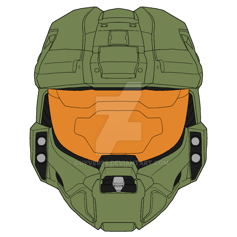 800x800 Collection Of Free Halo Drawing Helmet Download On Ui Ex