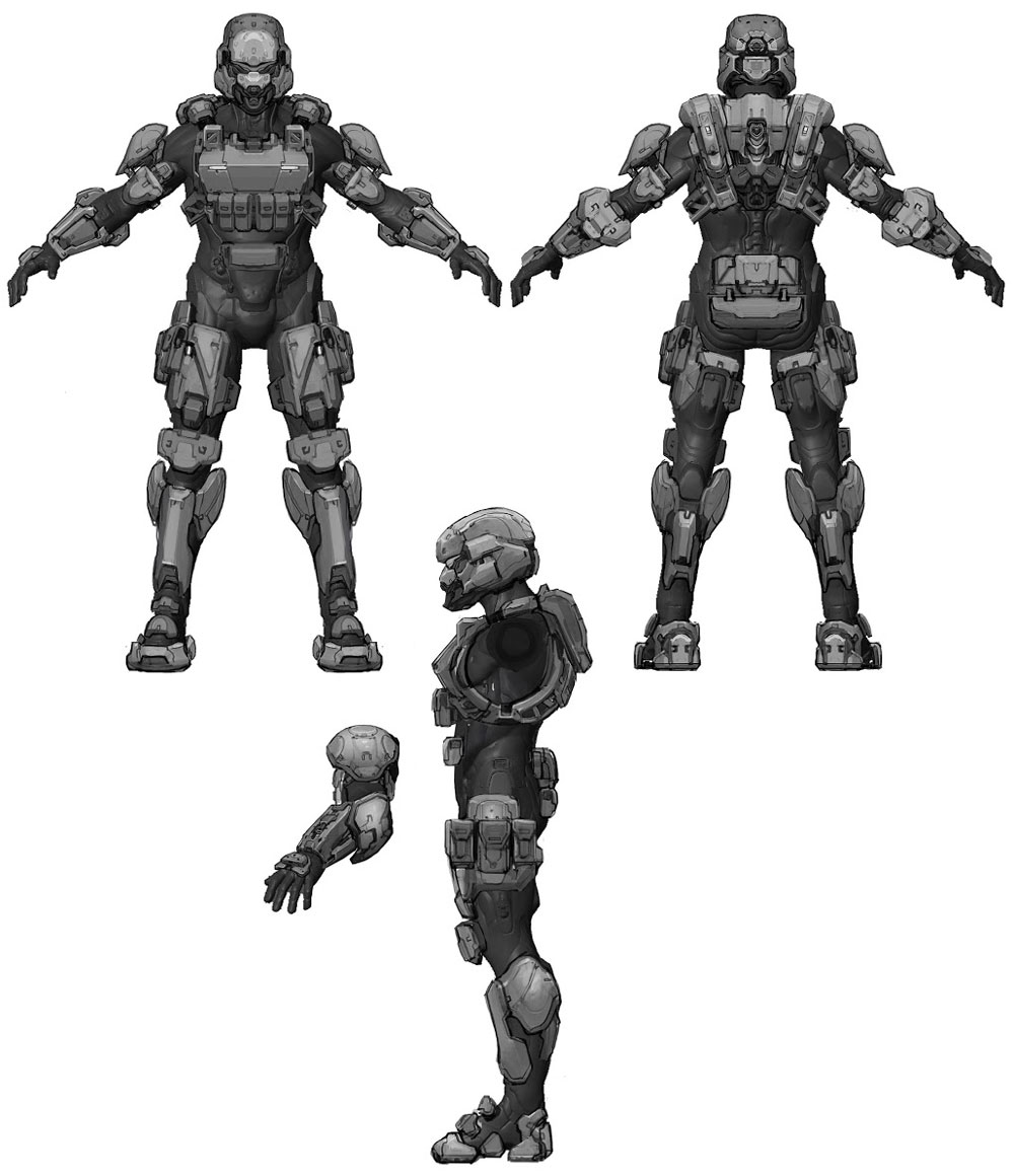 Halo 4 Drawings | Free download best Halo 4 Drawings on
