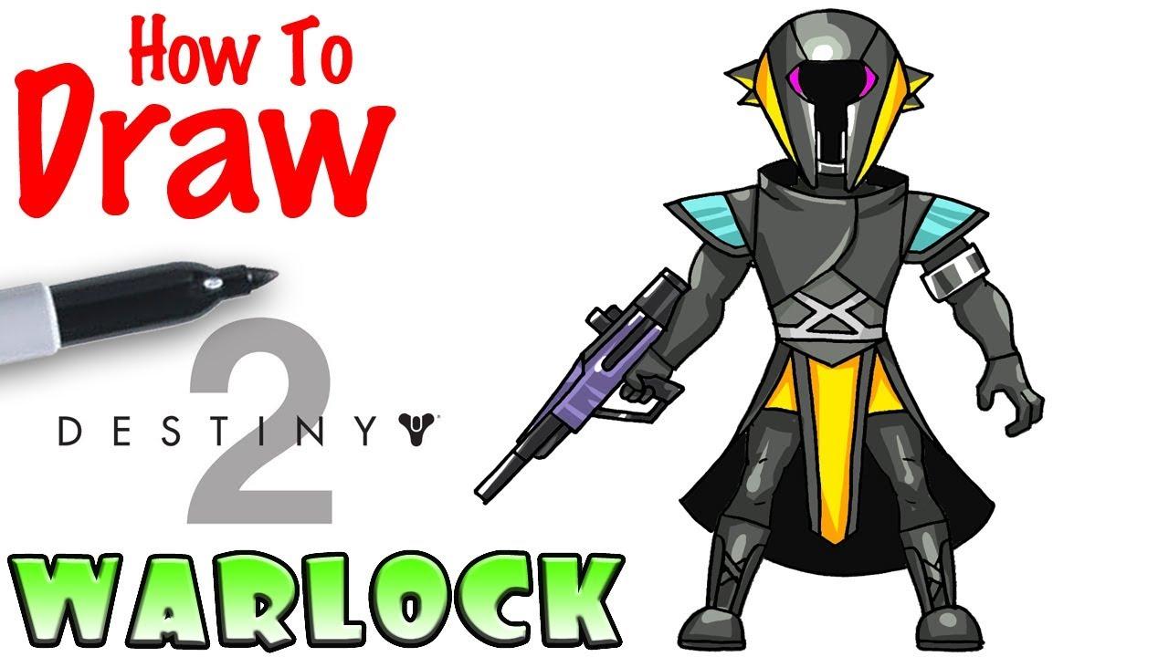 1280x720 How To Draw Warlock Destiny