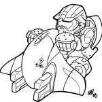 150x150 Master Chief Drawing New How The Promotional Art For Halo