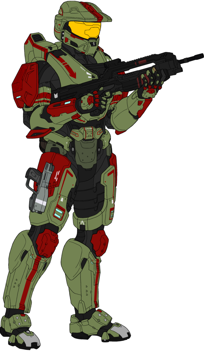682x1172 Odst Drawing Halo Character Transparent Png Clipart Free