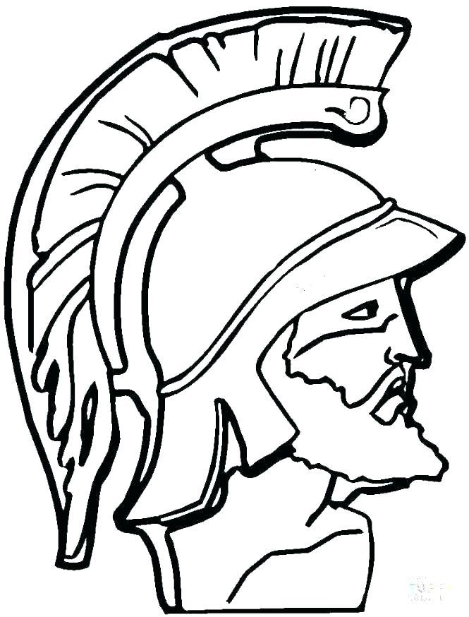 665x874 Harmonious Spartan Coloring Pages Halo Fabulous Helmet