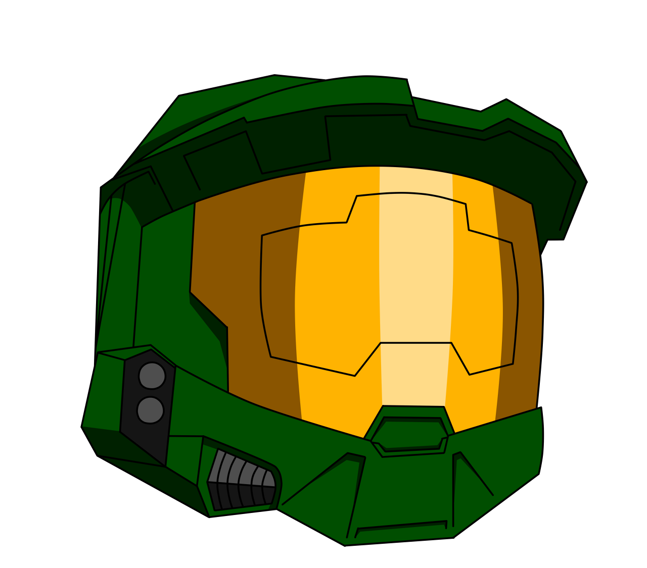 1280x1125 Master Chief Helmet Transparent Png Clipart Free Download