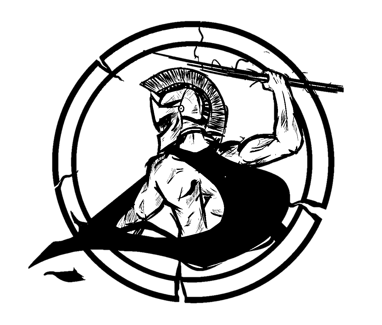 1322x1125 Odst Drawing Black And White Transparent Png Clipart Free