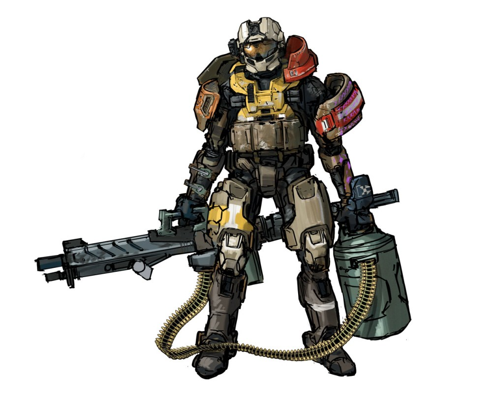 1000x814 George Halo Reach Armor