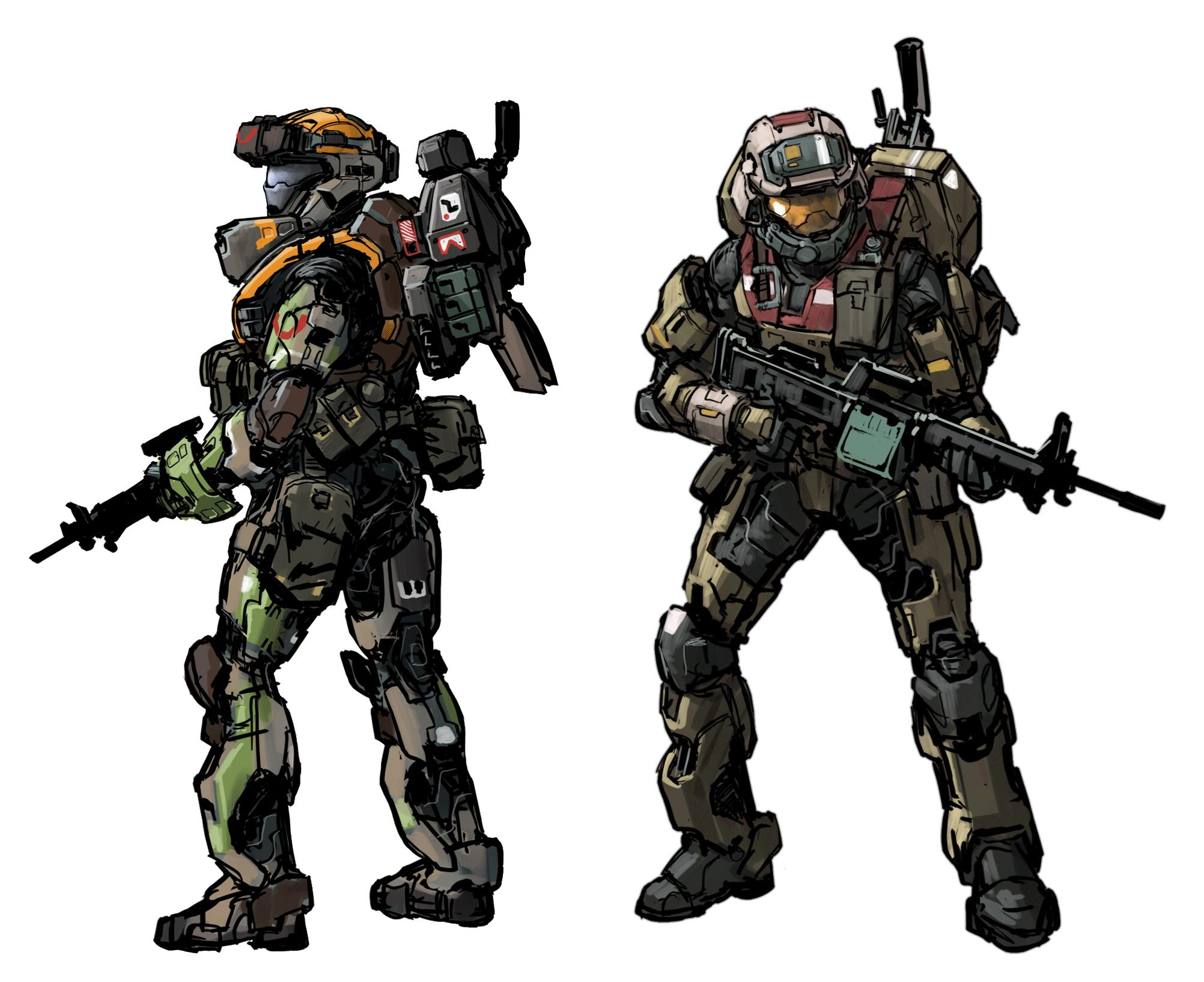 2004x1635 What Are The Odds Halo Has A More Militaristic Style Like Reach