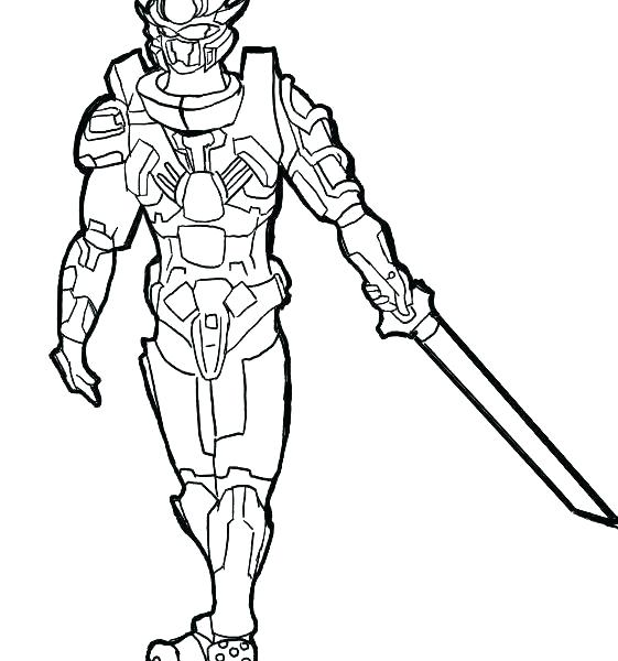561x600 Halo Reach Coloring Pages Spartan Coloring Pages Halo Reach