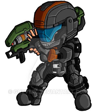 400x469 Halo Spartan Clipart