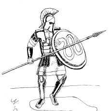 230x230 Nice Design Ideas Spartan Warrior Coloring Pages Halo To Print