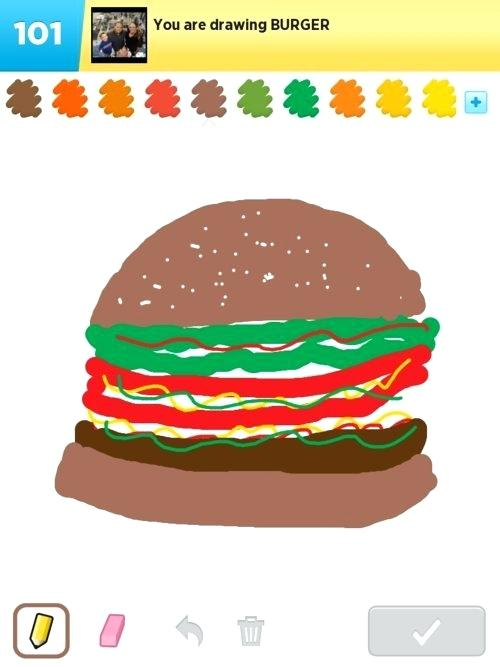 500x667 draw a burger how to draw a hamburger step burger draw something