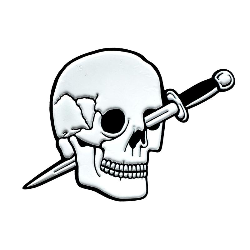 800x800 Skull Drawing Knife For Free Download