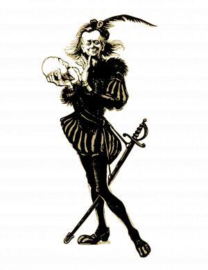 300x388 Hamlet Shakespeare Clipart