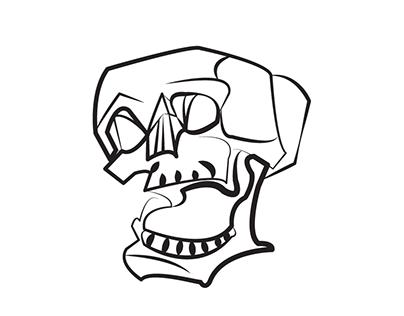 404x316 Line Art Line Art, Skull, Art