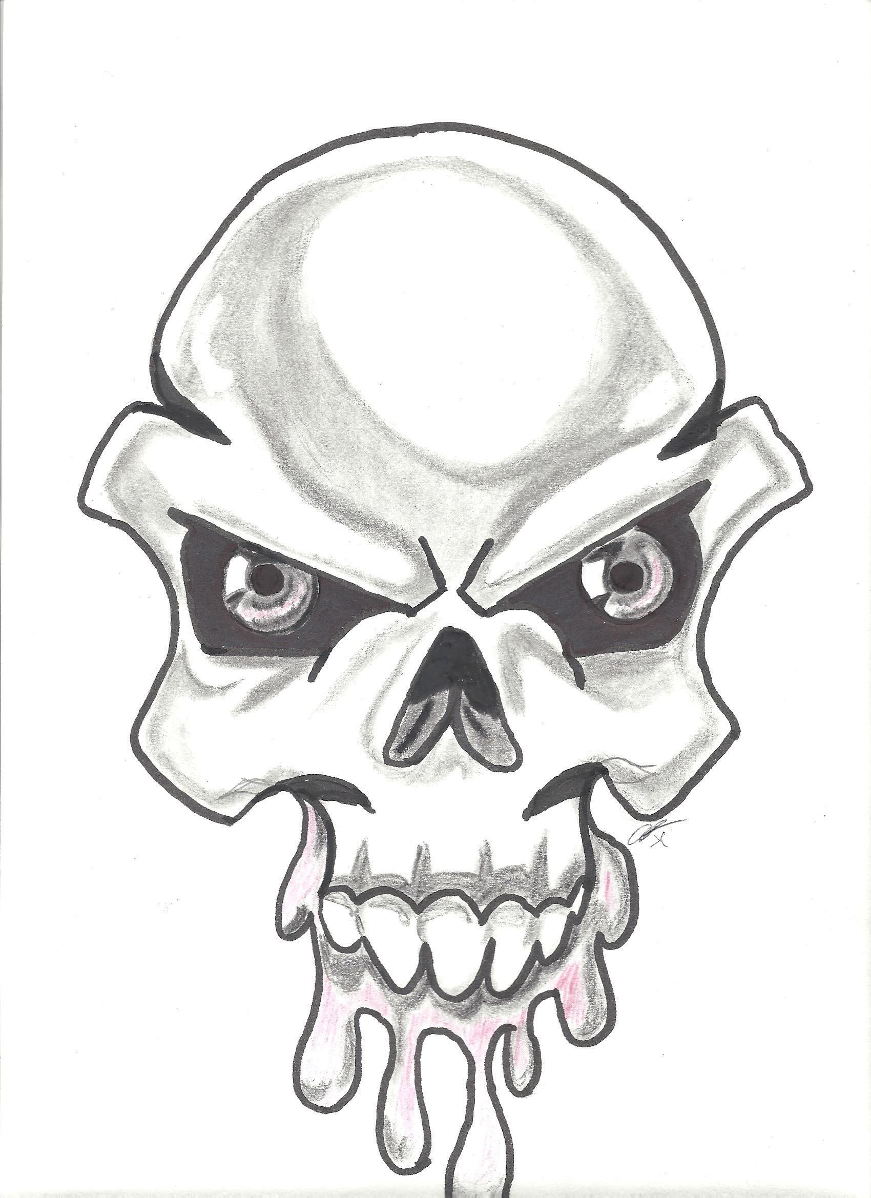 1700x2338 Skull Drawing Graffiti For Free Download