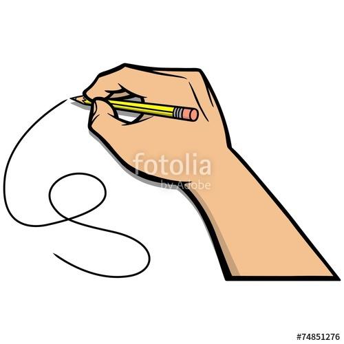 500x500 Drawing Hand Illustration