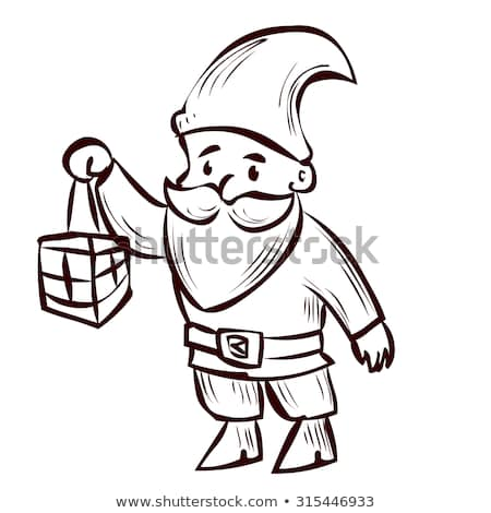 450x470 Huge Collection Of 'gnome Cartoon Drawing' Download More Than