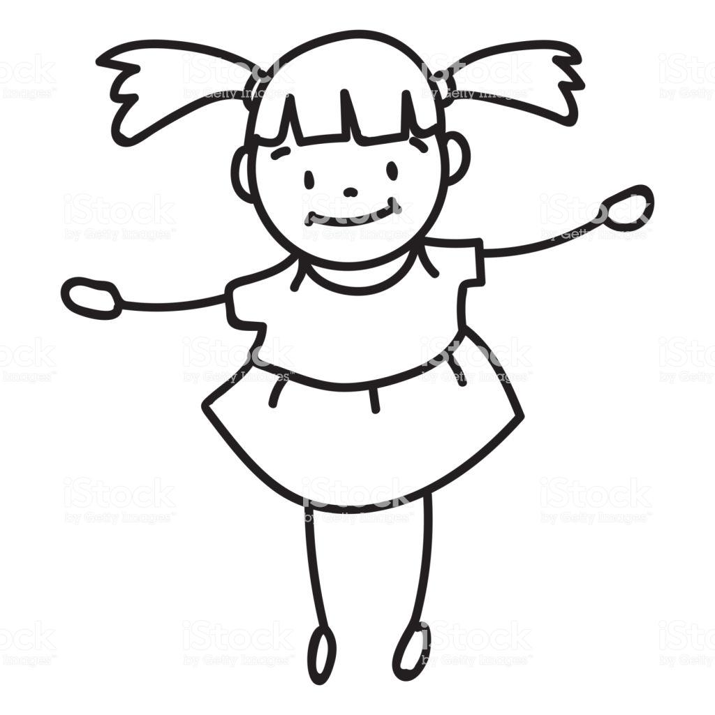 1024x1024 Kid Cartoon Drawing