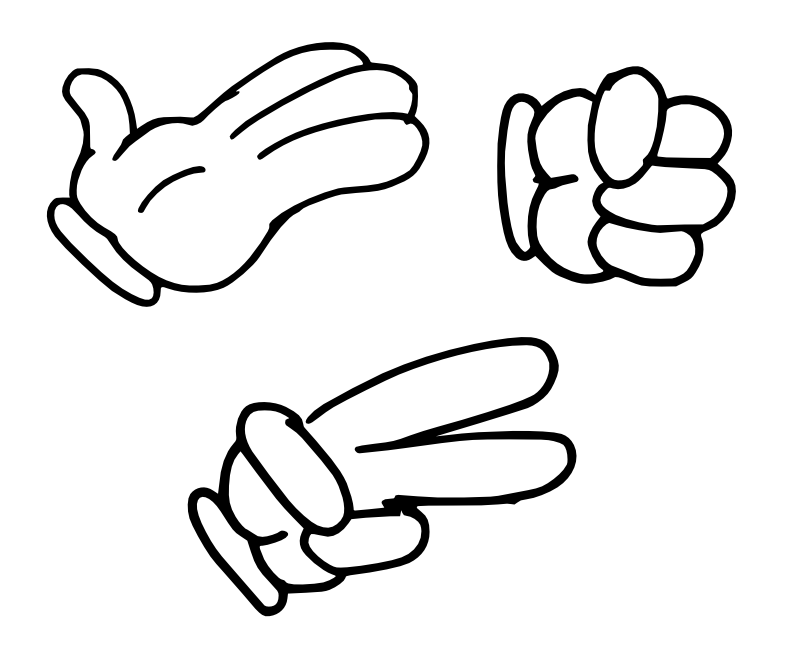 803x652 Smelly Finger Salute How To Draw Cartoons Drawing Cartoon Hands