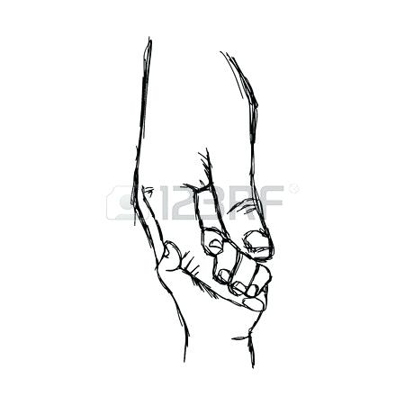450x450 holding hand drawing hold on tight hand drawing hand holding