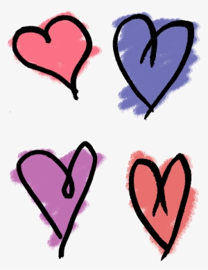 300x389 hand drawn heart png, transparent hand drawn heart png image free