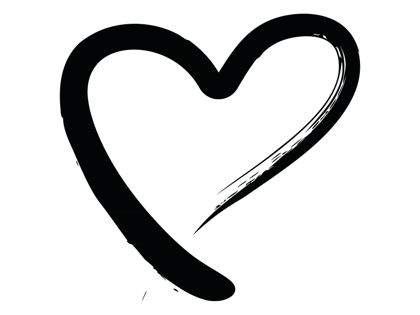 866x650 Hand Drawn Heart Png Transparent Image