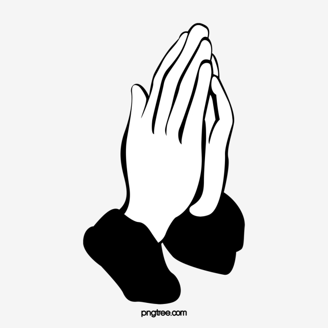 640x640 Namaste, Pray, Cartoon Hand Drawing Png Image And Clipart For Free