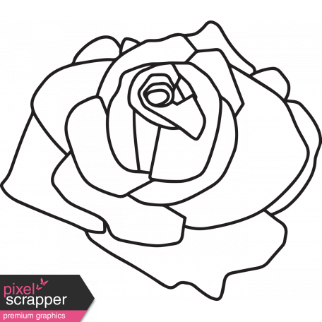 456x456 Punk Drawing Rose Huge Freebie! Download For Powerpoint
