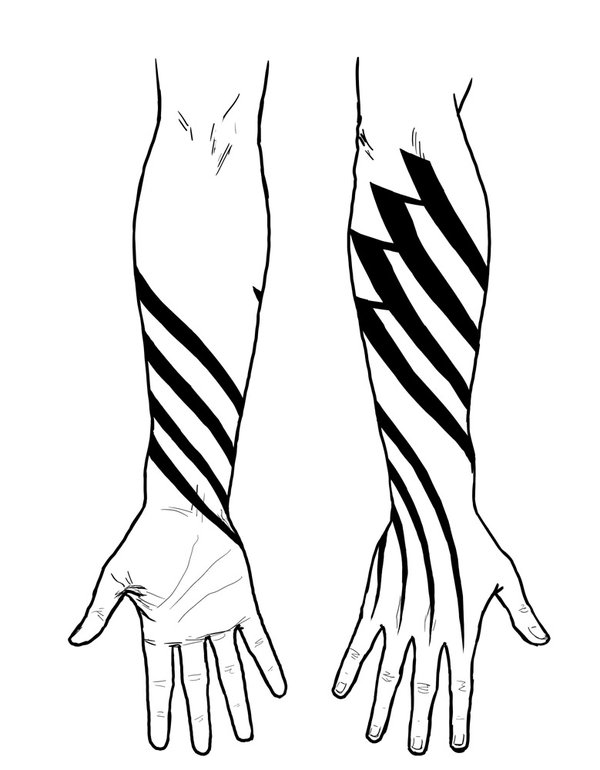 Hand Drawing Tattoos