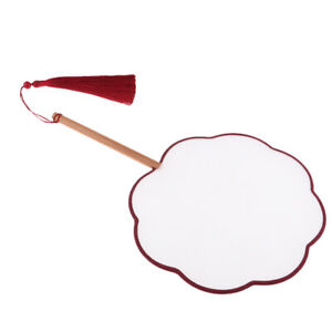 300x300 Retro Diy Petal Hand Fan, Blank For Drawing Painting Kids
