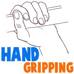 Hand Grip Drawing
