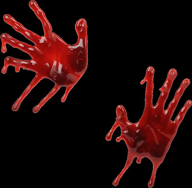 635x621 Handprint Drawing Blood