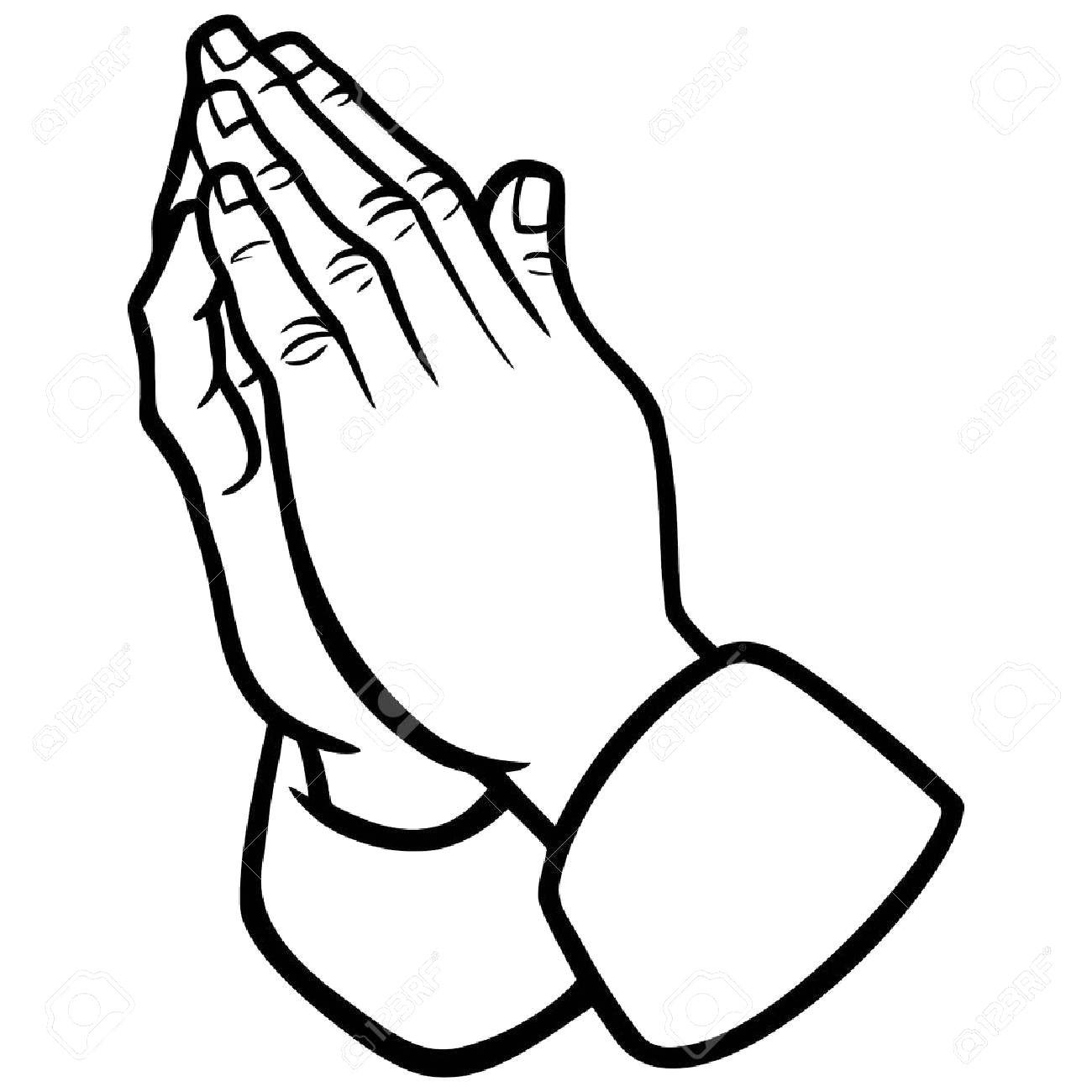1300x1300 Praying Hands Drawing Tutorial Digital Scrapbooking